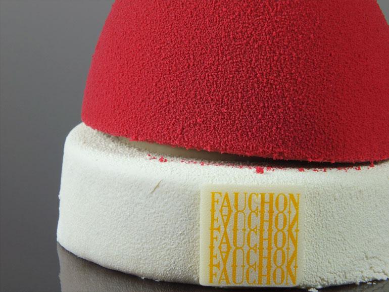 Bonnet de Noël Baby Choc Magenta - par Fauchon - visuel
