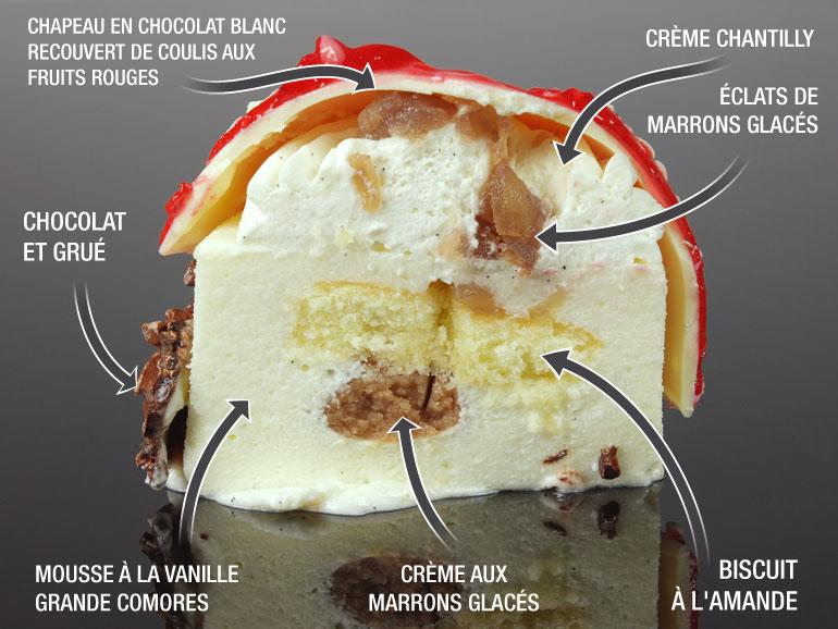 l'Oronge - par des Gâteaux & du Pain - composition