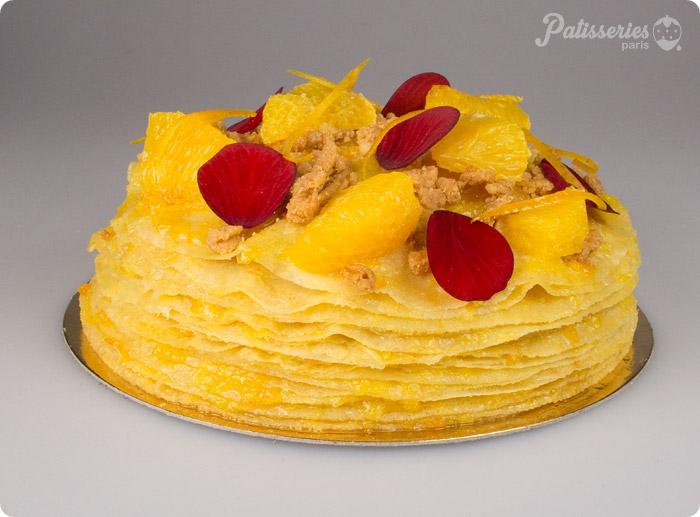 TEST : Gâteau de Crêpes par Gâteaux Thoumieux