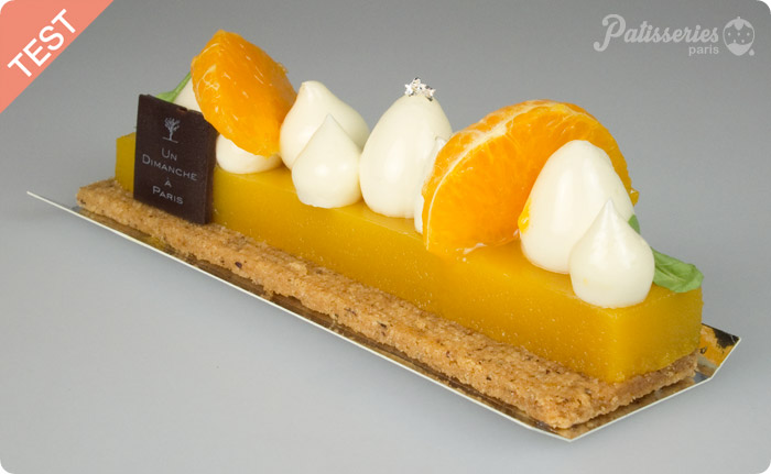 [SANS GLUTEN] TEST : Tartelette Mandarine Cardamone par Un Dimanche à Paris
