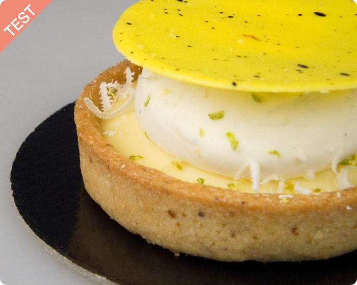 TEST : Tarte au Citron par Eugène [pâtisserie pour diabétiques]