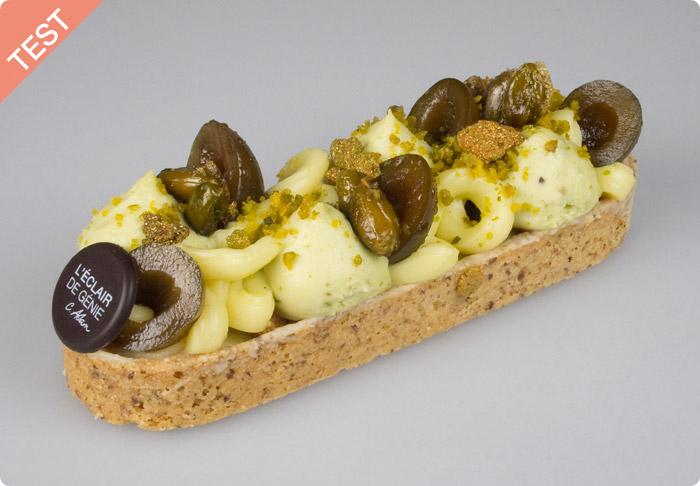 TEST : Barlette N°6 Pistache Olive par L'Eclair de Génie