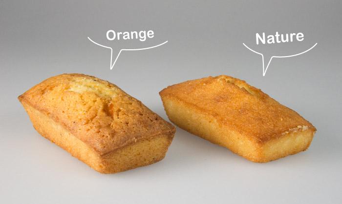 A la Pâtisserie des Rêves les financiers se déclinent en deux versions