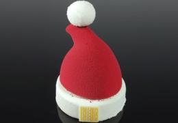 [NOËL] Bonnet de Noël Baby Choc Magenta