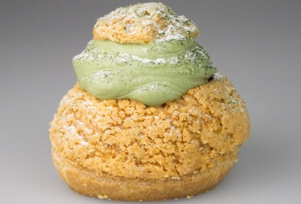 TEST : Boulangerie BO - Choux Matcha Framboise