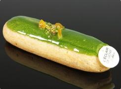 TEST : Éclair Pistache Orange par L'Éclair de Génie