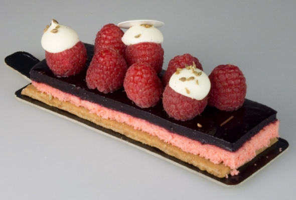 TEST : Chic Framboise par la Pâtisserie Eugène (pour diabétiques)