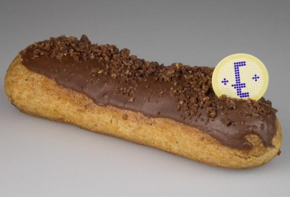 TEST : Éclair Chocolat par la Pâtisserie Eugène (pour diabétiques)