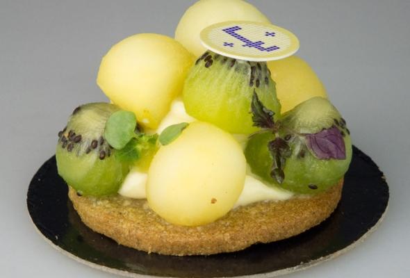 TEST : Pom'Kiwi par la Pâtisserie Eugène (pour diabétiques)