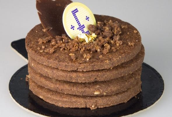 TEST : Tarte au Chocolat par la Pâtisserie Eugène (pour diabétiques)