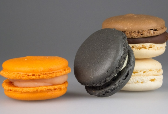 TEST : Divers Macarons par Laurent Favre-Mot