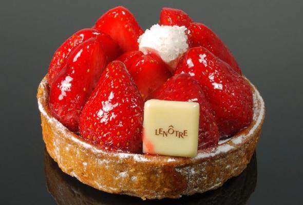TEST : Tarte aux fraises par Lenôtre