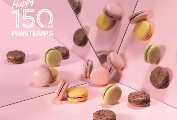 ACTU : la Maison du Chocolat fête les 150 ans du Printemps