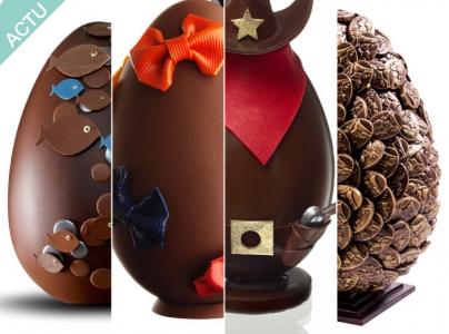 ACTU : 20 Œufs de grands Pâtissiers pour Pâques 2015