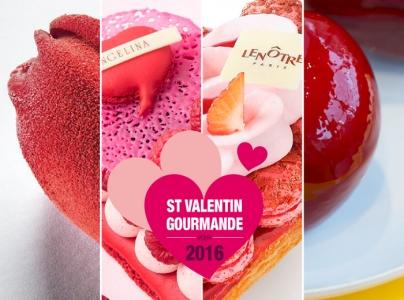 Les Pâtisseries de la Saint Valentin 2016