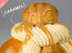 Test : St Honoré au Caramel par Acide